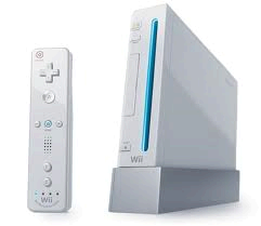 Wii Console & 2 Remotes