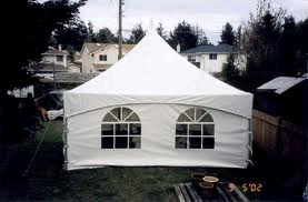 30' Section Tent Wall, Window