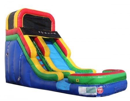 16ft Rainbow Slide WET