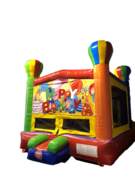 Bounce House - Balloon, Birthday Banner