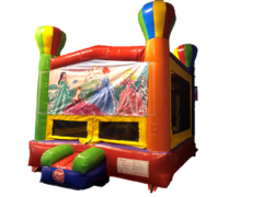 Bounce House - Balloon, Princess Banner