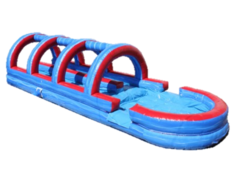 32ft Blue Wave Dual Lane Slip and Slide