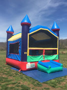 Bounce House - Castle red/blue/yellow CUSTOMER PICKUP