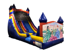 18ft Castle Slide- Princess Banner