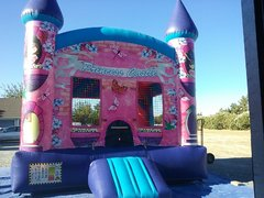 Deluxe Flower Princess Castle with Basketball hoop