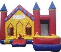 Castle  7 in 1 Combo Jump House DRY