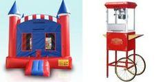Deluxe American Castle and Popcorn Machine