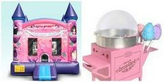 Deluxe Flower Princess and Cotton Candy Machine