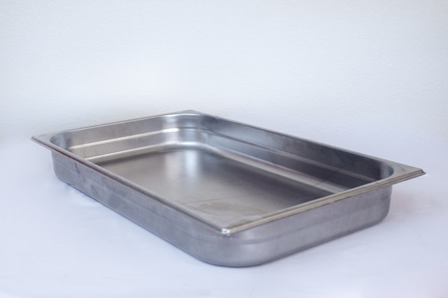 Extra food pan for 9qt chafing dish