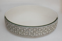 Pearls & Crystals Cake Stand