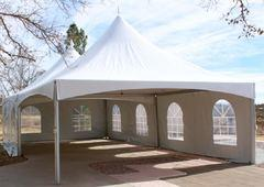 20 Foot High Peak Tents