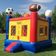 Sports Themed Bounce House