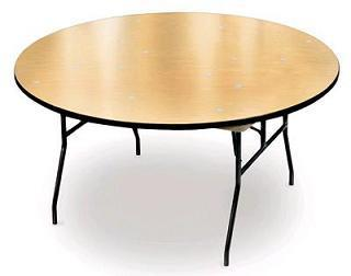 72 in. Round Table