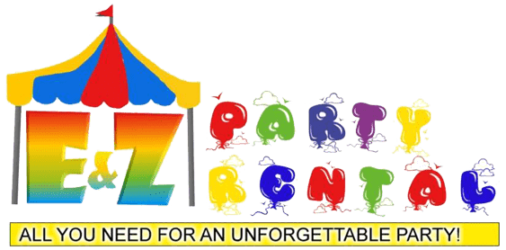E&Z Party Rental Logo