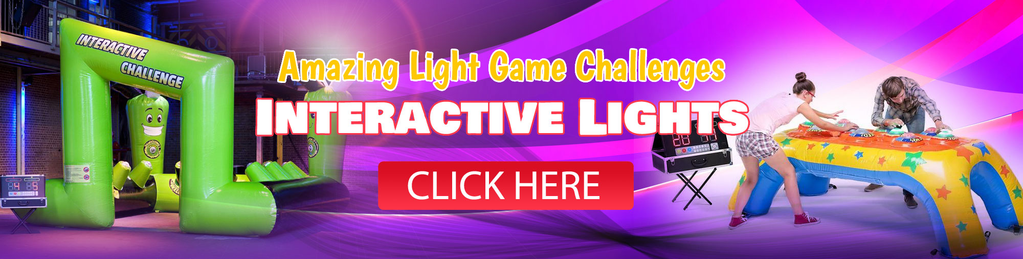 Interactive Light Game Rental