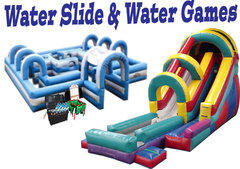 Water Slides and Water Games