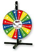 Twister Game Wheel jumper rental Riverside