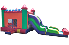 4 in 1 Castle Side Slide