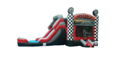 Racecar Combo Water Slide