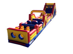 68 ft Extreme Inflatable obstacle course combo