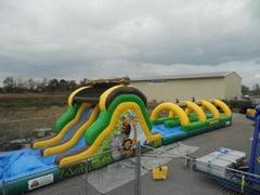 65 Foot Jungle Run Slip-n-Slide Combo