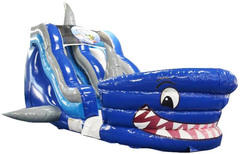 18 Foot Shark Tank Water Slide
