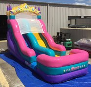 18 Foot Princess Water Slide