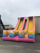 24 Foot Double Drop Slide