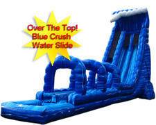 27 Foot Blue Crush Water Slide with 35 Foot Slip n Slide