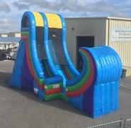 21 Foot Half Pipe Rampage Water Slide