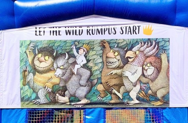 WHERE THE WILD THINGS ARE BANNER