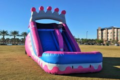 14 FT TALL PRINCESS WATER SLIDE