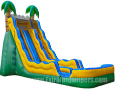 20ft Tropical Dual lane Water Slide 513