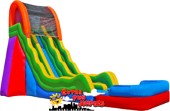 20ft Retro Dual Lane Water Slide 520
