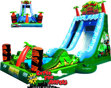 20ft Tiki Falls Water Slide  510