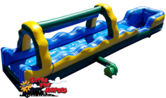 30ft Single Lane Slip & Slide with Pool  522