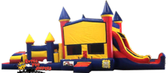 45ft Castle Double Slide Combo - 637-1&637-2