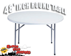 48 Inch Adult Round Table