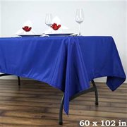 Blue Rectangular Linen