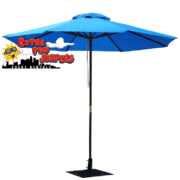 Blue Umbrella and Base