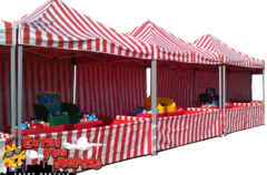 10x10 Deluxe Carnival Booths -