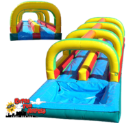 Double lane Slip & Slide with Pool  516