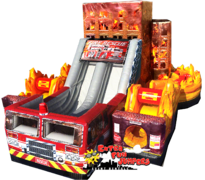 Fire Rescue Obstacle Course  631,632&633