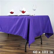 Purple Rectangular Linen