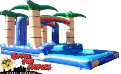 Tropical Double lane Slip & Slide  507
