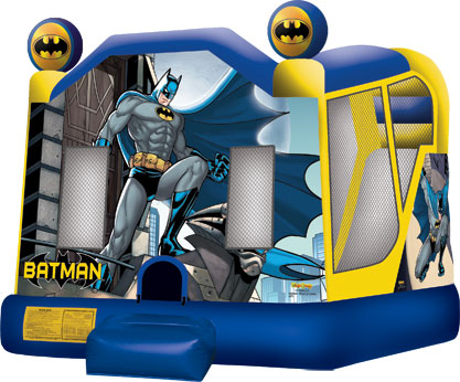 Batman Jump & Slide House