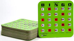 Bingo Shutter Card pack of 25