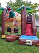 Jurassic Jump with Slide