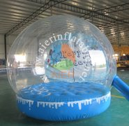 Snow Globe with one of 5 backdrops