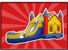 Wide Slide Castle 5 in 1 Combo